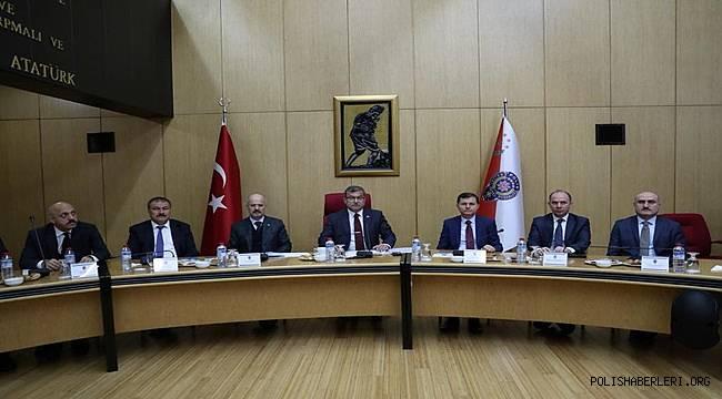 Emniyet Genel Müdürümüz Sayın Celal Uzunkaya Başkanlığında Koordinasyon Toplantısı Düzenlendi
