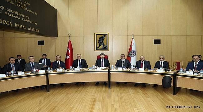 İçişleri Bakan Yardımcısı Sayın Muhterem İnce Başkanlığında Karayolu Trafik Güvenliği Stratejisi Eşgüdüm Kurulu'nun 4.Toplantısı Düzenlendi