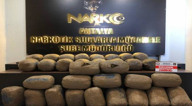 Sebze Kamyonu ile İlimize Uyuşturucu Nakleden Şüphelilere Hal Kompleksinde Operasyon Düzenlendi