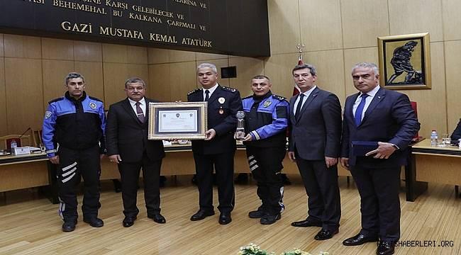 2018 Yılının En İyi Toplum Destekli Polislik İl Uygulamalarında Antalya Birinci Seçildi