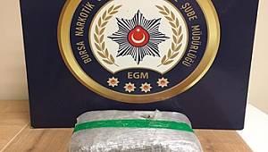 Bursa Narkotik Suçlarla Mücadele Şube Müdürlüğümüzce düzenlenen operasyonlarda 3 şahıs yakalandı