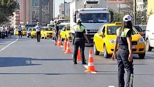 İstanbul'da 07.04.2019 Pazar günü saat 13.00'te Trafiğe kapatılacak Yollar