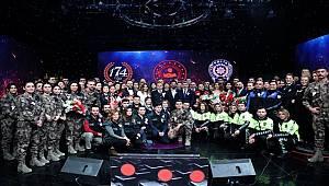 TRT Genel Müdürlüğü tarafından Türk Polis Teşkilatımızın Kuruluşunun 174. Yıl Dönümü Dolayısıyla Polis Günü Özel Konseri Düzenlendi