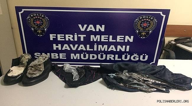 Van Havalimanında Uyuşturucu Ele Geçirildi