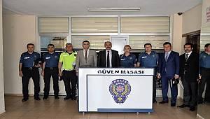 Adana İl Emniyet Müdürü Zafer Aktaş'ın Yüreğir İlçesinde Muhtarlarla Toplantısı