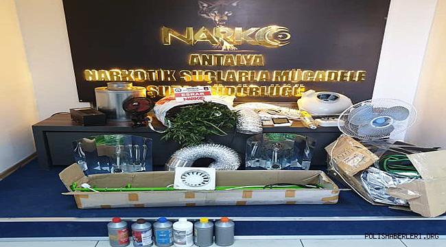 Antalya'da Uyuşturucu Madde Ticareti Yapmak Suçundan 4 Şüpheli Yakalandı