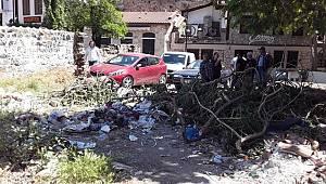 Antalya Kaleiçi Bölgesinde Bulunan ve Suça Mekan Teşkil Eden Alanların Temizlenmesi Sağlandı