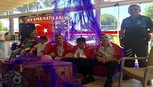 Antalya Polisi Engelli Gençlerimiz İçin Düzenlenen Temsili Asker Kına Töreni'ne Katıldı