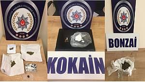 Bursa Narkotik Suçlarla Mücadele Şube Müdürlüğümüzce düzenlenen operasyonlarda 17 şahıs yakalandı