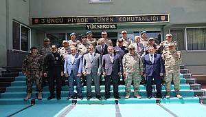 Emniyet Genel Müdürümüz Sayın Celal Uzunkaya Yüksekova'da