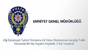 Kırşehir'de Ölümlü/Yaralanmalı Trafik Kazası
