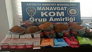 Manavgat İlçesinde Gümrük Kaçakçılığı, Hırsızlık ve Uyuşturucu Madde Ticareti Suçlarından 6 Şüpheli Yakalandı
