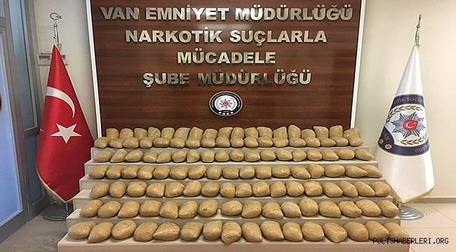 Van'da Uyuşturucu Operasyonu Yapıldı