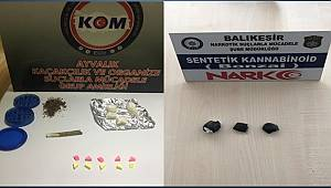 BALIKESİR POLİSİ UYUŞTURUCUYA GEÇİT VERMİYOR