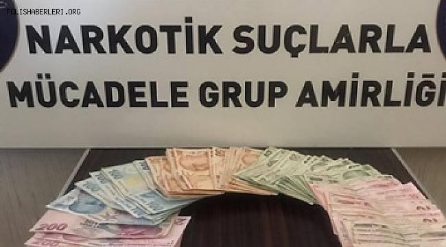 EDREMİT'TE UYUŞTURUCU TACİRİ TUTUKLANDI