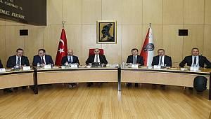 Emniyet Genel Müdürümüz Sayın Mehmet Aktaş Başkanlığında Koordinasyon Toplantısı Düzenlendi