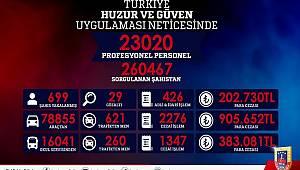 Jandarma'dan Türkiye Huzur ve Güven Uygulaması