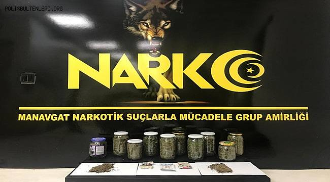 Manavgat İlçesinde Uyuşturucu Madde Ticareti Yapmak Suçundan 1 Şahıs Tutuklandı