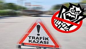 Aksaray'da Ölümlü/Yaralanmalı Trafik Kazası