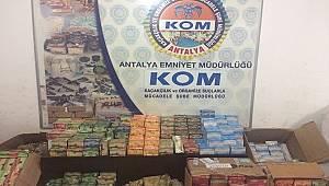 Antalya İl Merkezi, Alanya ve Manavgat İlçelerinde Duman-8 Operasyonu Yapıldı