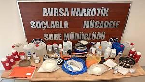 Bursa'da Uyuşturucu Ticareti yapan Şahıs Yakalandı