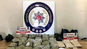 Çorlu'da Uyuşturucu Madde Ticareti Yapan Şahıslar Yakalandı
