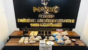 İkametlerinde Uyuşturucu Madde Depolayan 2 Şahıs Tutuklandı