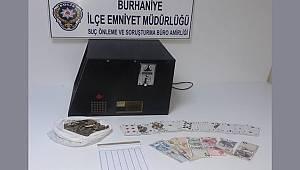 KUMAR OYNAYAN VE OYNATANLARA POLİS BASKINI