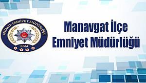 Manavgat İlçesinde 4 Aranan Şahıs Tutuklandı