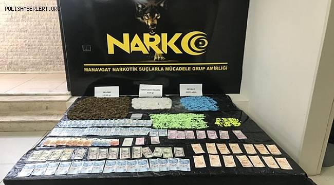 Manavgat İlçesinde Uyuşturucu Madde Ticareti Yapmak Suçundan 2 Şahıs Tutuklandı