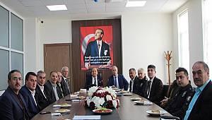 Menteşe 'de Güvenlik Toplantısı Gerçekleştirildi