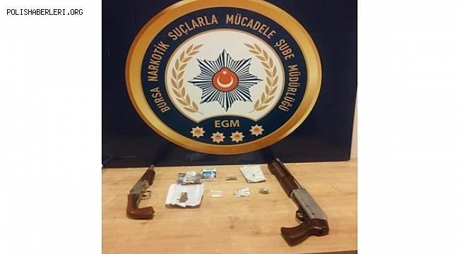 Narkotik Suçlarla Mücadele Şube Müdürlüğümüz ve Asayiş Şube Müdürlüğümüzce 19 Kişi Göz Altına Alındı