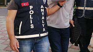 Antalya'da 33 Yıl Kesinleşmiş Hapis Cezası Olan Şahıs Yakalandı