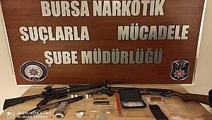 Bursa'da Uyuşturucu Ticareti Yapan 14 Kişi yakalandı