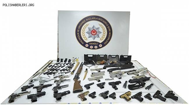 Denizli'de Silah/Mühimmat Kaçakçılığı Yapmak İsteyen Şahıs Yakalandı