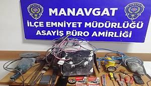 Kiraladıkları Araç ile Hırsızlık ve kapkaç yapan şahıslar yakalandı