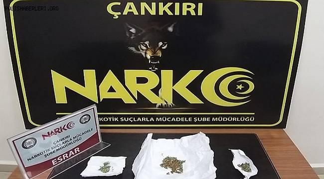 Çankırı Narkotik Şube 2020/Ocak Faaliyetleri