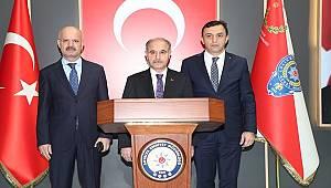 Emniyet Genel Müdürü Sayın Mehmet Aktaş Antalya İl Emniyet Müdürlüğü'nü Ziyaret Etti