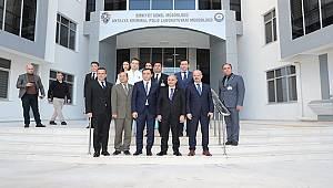 Emniyet Genel Müdürü Sayın Mehmet Aktaş Antalya Kriminal Polis Laboratuvarı Müdürlüğü'nü Ziyaret Etti