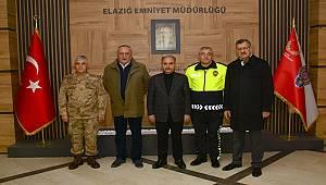 Emniyet Genel Müdürü Sayın Mehmet Aktaş Elazığ İl Emniyet Müdürlüğü'nü Ziyaret Etti