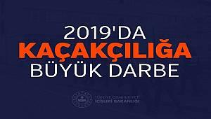 Emniyet ve Jandarma Birimlerinden Kaçakçılık Suçlarına 2019 Darbesi