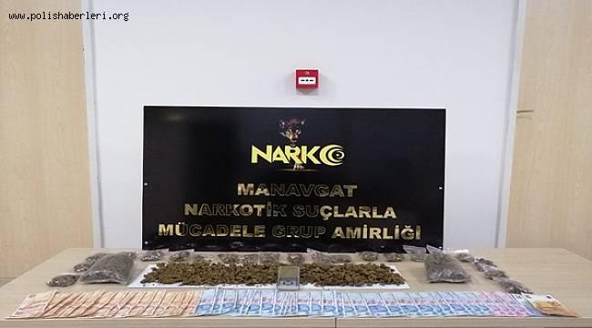 Manavgat İlçesinde Uyuşturucu Madde Suçundan 2 Şüpheli Yakalandı