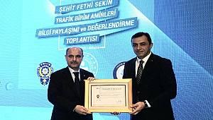 Antalya'da Şehit Fethi Sekin Trafik Birim Amirleri Bilgi Paylaşımı ve Değerlendirme Toplantısı Yapıldı