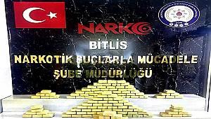 Bitlis'te 41 Milyon 400 Bin TL Değerinde Uyuşturucu Ele Geçirildi