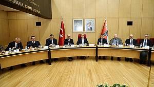 Emniyet Genel Müdürü Sayın Mehmet Aktaş Başkanlığında Koordinasyon Toplantısı Düzenlendi
