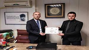 Mehmet Altunova, GaziantepHaber27 Başkanını Ziyarette bulundu.