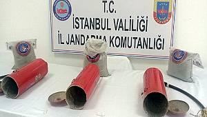 Yangın Tüplerine Gizlenmiş 10 Kg 320 Gr Eroin Ele Geçirildi