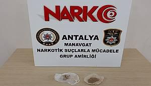 Manavgat İlçesinde Uyuşturucu Madde Suçundan 3 Şüpheli Yakalandı