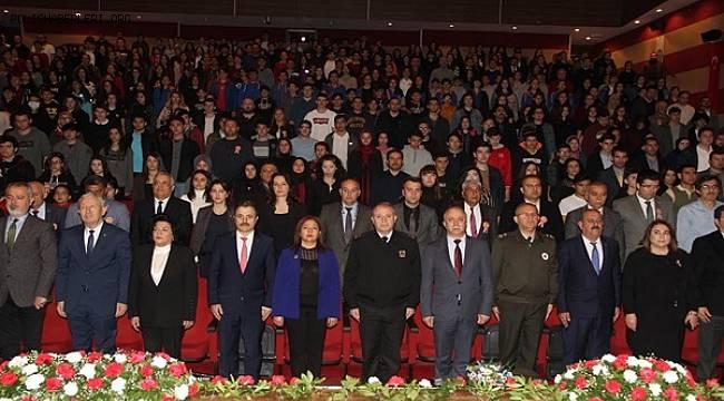 Muğla'da İstiklal Marşı'nın Kabulünün 99. Yıldönümü Kutlandı