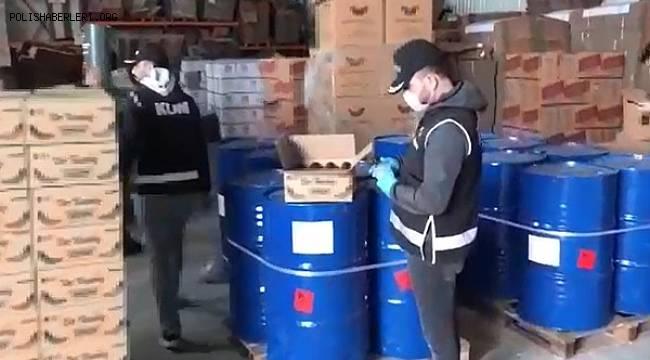 Urfa'da Kaçak ve Sahte Hijyen Ürünleri Ele Geçirildi